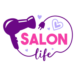 Salon life badge