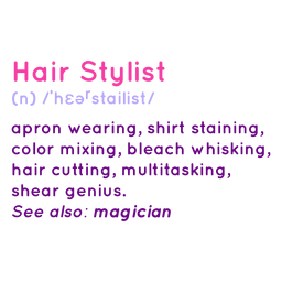Hair stylist definition