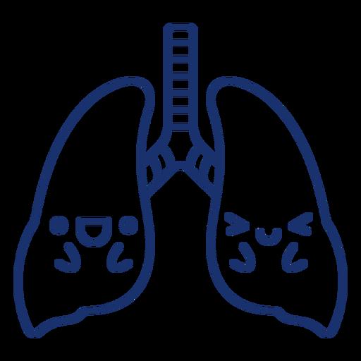 Happy lungs stroke