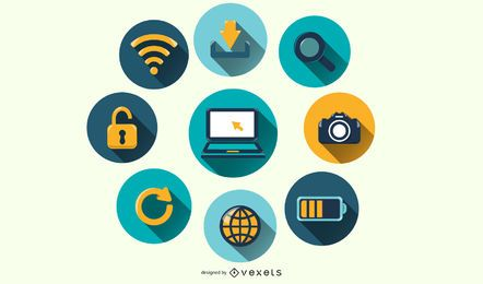 Computer Icon Vector pack