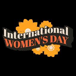 Cita vintage del día internacional de la mujer