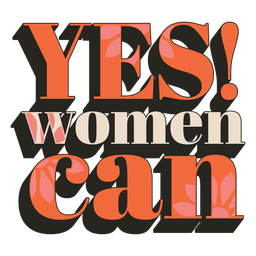 Women can vintage quote