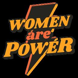Mulheres são citações vintage poder