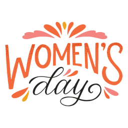 Women's day badge