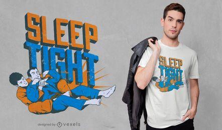 Diseño de camiseta con cita de Jiu-Jitsu
