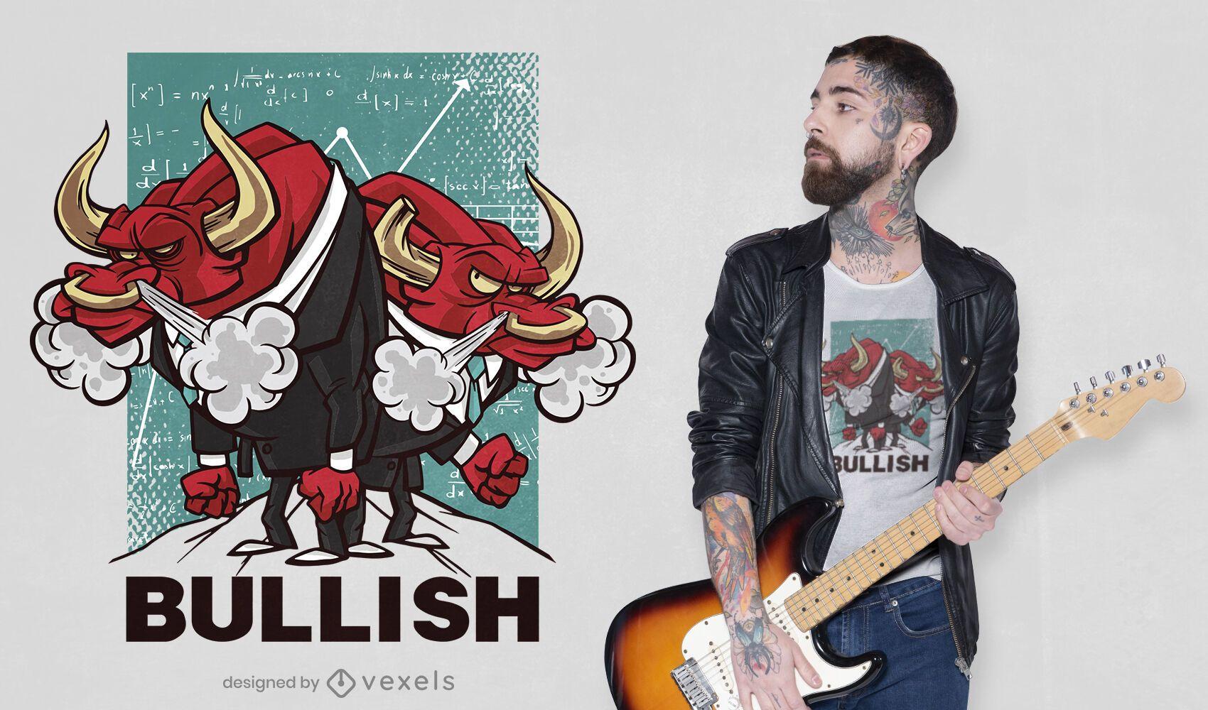 Bullish t-shirt design