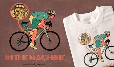 Ich bin das Maschinen-T-Shirt-Design