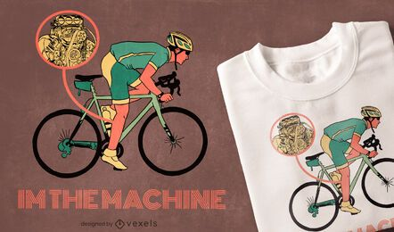 I'm the machine t-shirt design