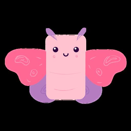 Happy moth flat