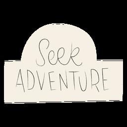 Buscar aventuras letras escritas a mano
