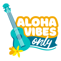 Aloha vibes flat quote