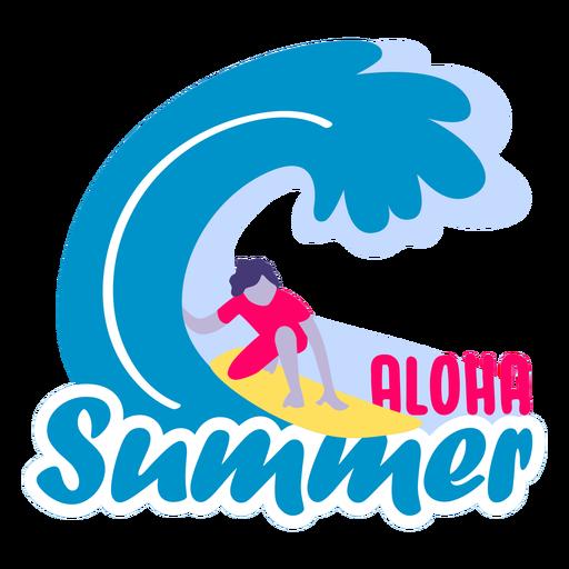 Piso de verano aloha