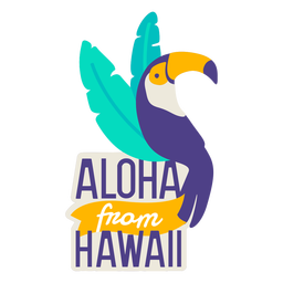 Aloha de hawaii flat