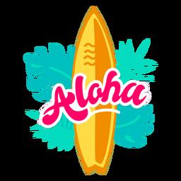 Aloha surf flat