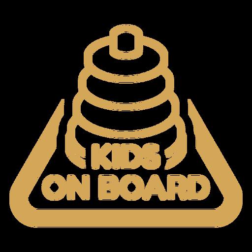 Badge kids on board