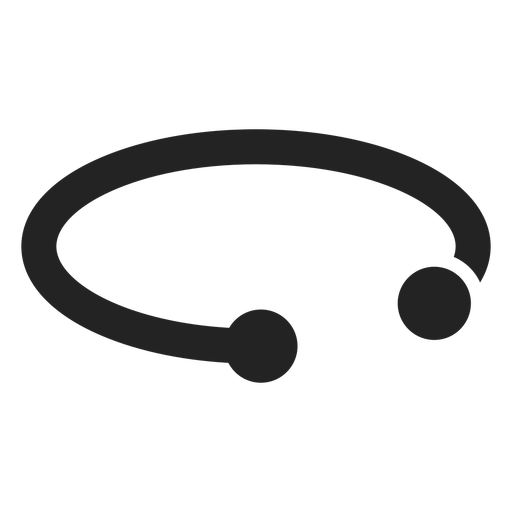 Bracelet accesory silhouette