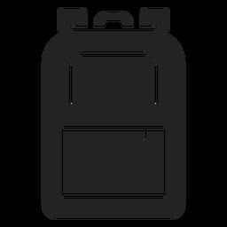 Recorte de mochila escolar