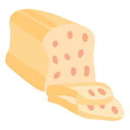 Pan dulce plano