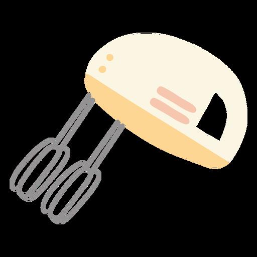 Flat kitchen mixer