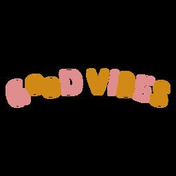 Letras de buenas vibraciones
