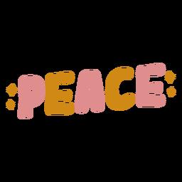 Letras lindas de paz
