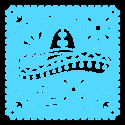 Mexican hat papel picado