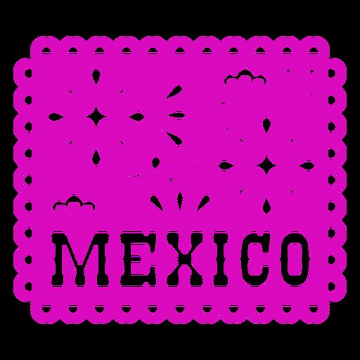 Mexiko Papel Picado