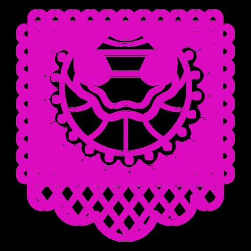 Mexican dress papel picado