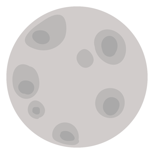 Full moon flat