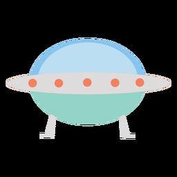 Alien spaceship flat