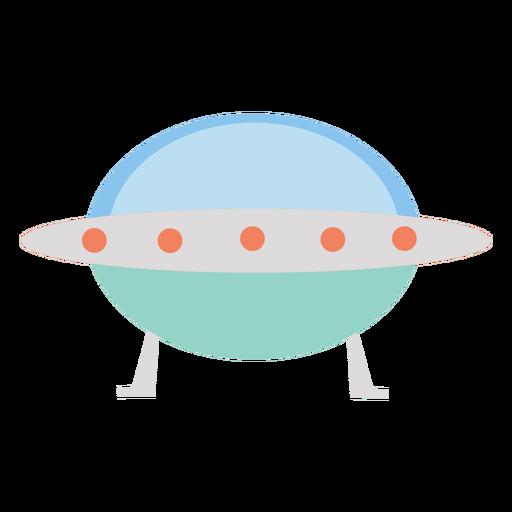 Nave espacial alienígena plana