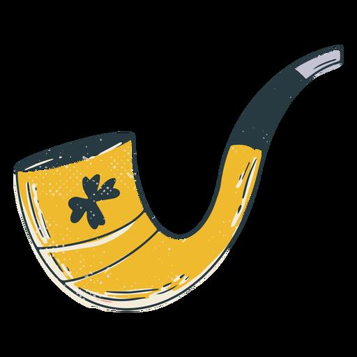 Smoking pipe lucky color-stroke