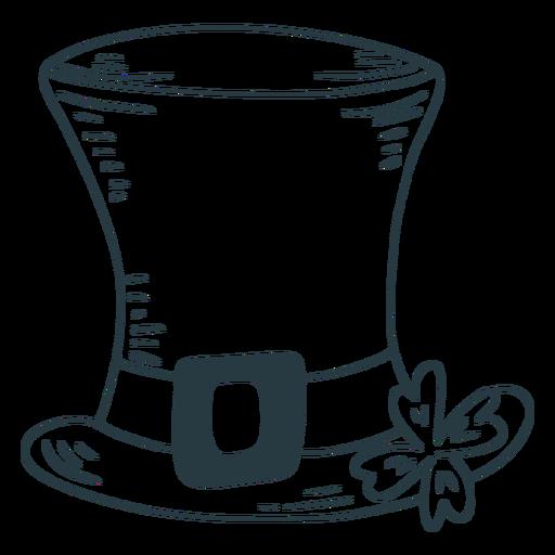 Lucky irish hat stroke