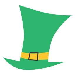 Lucky irish hat flat