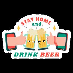 Emblema de cerveja caseira
