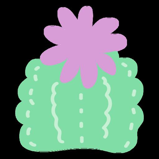 Arbusto de cactus plano