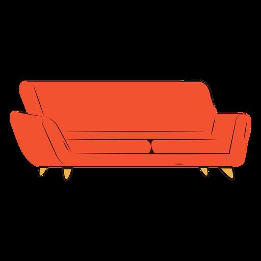 Apartamento com sofá confortável