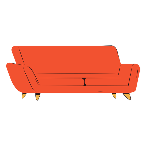 Comfy couch flat