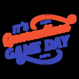 Letras del día del juego en cuarentena