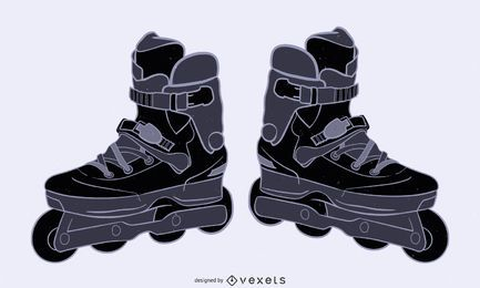 Zapatos patines 2