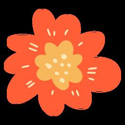 Plano de una sola flor