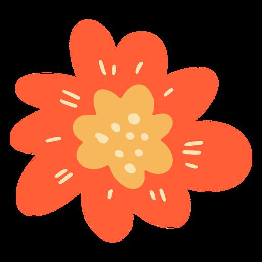 Single flower flat