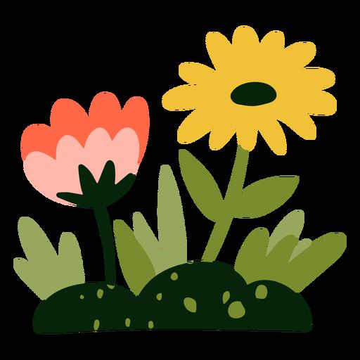Small garden flat