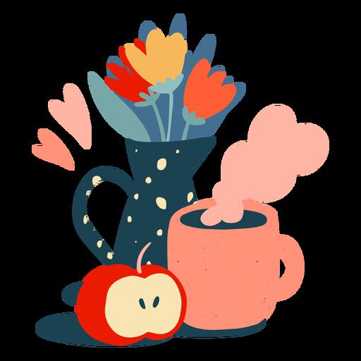 Piso de desayuno de primavera