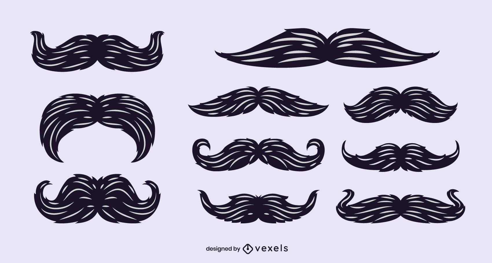 Conjunto de vectores de bigotes