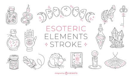 Esoteric elements stroke