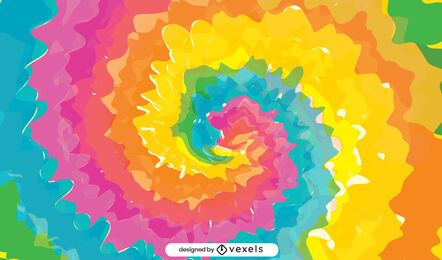 Fundo colorido tie-dye