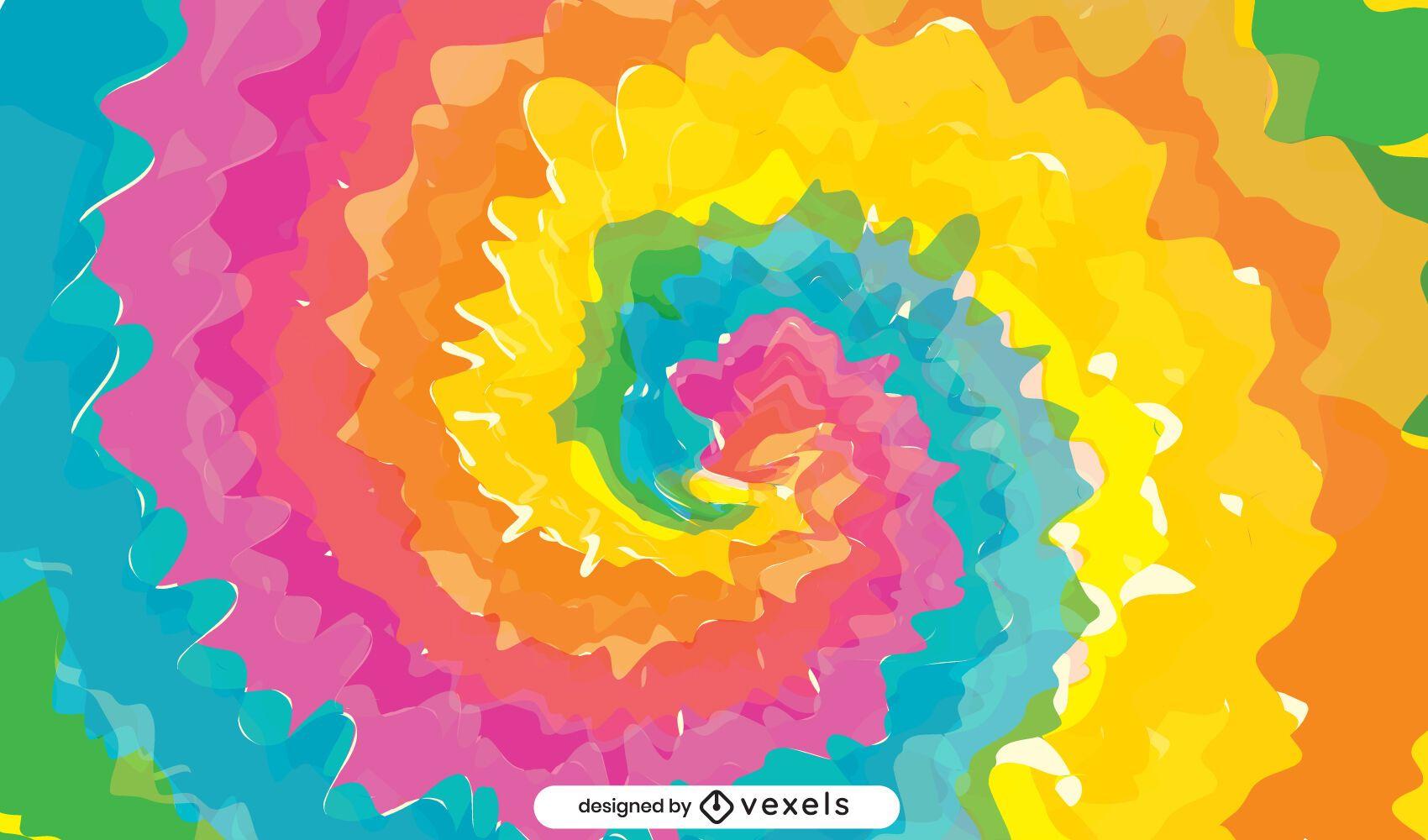 Fondo de colores tie-dye