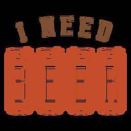 Eu preciso de um crachá de cerveja