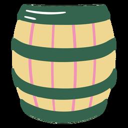 Beer barrel flat